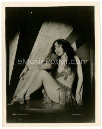 1m032 ANN PENNINGTON 8x10 still '20s sitting in skimpy outfit against cool background!
