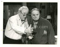 1m039 ARCHIE BUNKER'S PLACE TV 7x9.25 still '79 close up of Carroll O'Connor & Don Rickles!