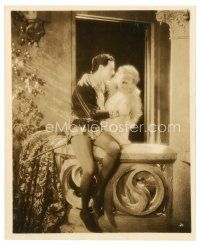 1m059 BLUEBEARD'S 7 WIVES 8x10 still '25 Ben Lyon & Blanche Sweet in Romeo & Juliet balcony scene!