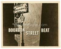 1m063 BOURBON STREET BEAT TV 8x10 still '59 New Orleans Louisiana detective series!