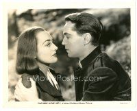 1m070 BRIDE WORE RED 8x10 still '37 great close up of Joan Crawford & Franchot Tone!