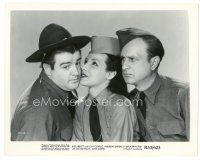 1m077 BUCK PRIVATES 8x10 still R53 Bud Abbott is jealous of Lou Costello & Jane Frazee!