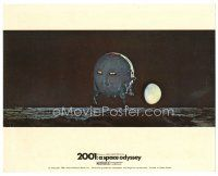 1m006 2001: A SPACE ODYSSEY color English FOH LC '68 cool Cinerama image of pod landing on moon!