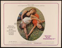1y003 10:30 P.M. SUMMER 1/2sh '66 Melina Mercouri, Romy Schneider & Peter Finch in love triangle!