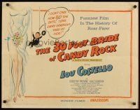 1y006 30 FOOT BRIDE OF CANDY ROCK 1/2sh '59 great art of Costello, a science-friction masterpiece!
