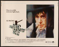 1y019 AND JUSTICE FOR ALL 1/2sh '79 directed by Norman Jewison, Al Pacino is out of order!