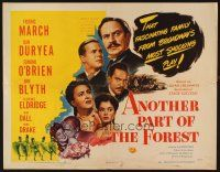 1y022 ANOTHER PART OF THE FOREST 1/2sh '48 Fredric March, Ann Blyth, from Lillian Hellman's play!