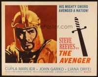 1y031 AVENGER 1/2sh '64 La Leggenda di Enea, Steve Reeves, Albert Band, sword-and-sandal!