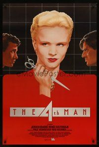 2c010 4TH MAN int'l 1sh '83 Paul Verhoeven's De Vierde man, realy cool Topazio art of top stars!