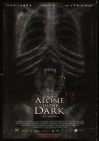 2c032 ALONE IN THE DARK advance 1sh '05 Christian Slater, Tara Reid, Uwe Boll directed!