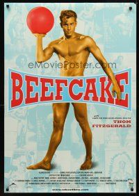 2c075 BEEFCAKE 1sh '99 biography of Bob Mizer, founder of the Athletic Model Guild!