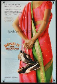 2c080 BEND IT LIKE BECKHAM advance DS 1sh '03 Keira Knightley & Parminder Nagra, soccer