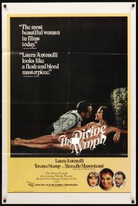 2w289 DIVINE NYMPH 1sh '79 Terence Stamp, sexy Laura Antonelli is Divina Creatura!