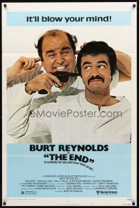 2w322 END style A 1sh '78 Dom DeLuise watching Burt Reynolds shoot himself!