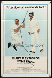 2w324 END style B 1sh '78 Dom DeLuise helping Burt Reynolds to hang himself!