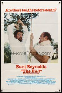 2w325 END style C 1sh '78 Dom DeLuise helping Burt Reynolds to hang himself!