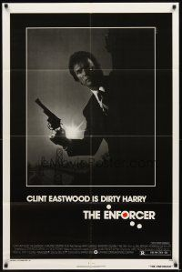 2w326 ENFORCER 1sh '76 photo of Clint Eastwood as Dirty Harry by Bill Gold!