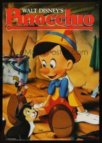 3b051 PINOCCHIO Aust 1sh R92 Disney classic cartoon about wooden boy who wants to be real!