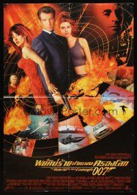 3b009 WORLD IS NOT ENOUGH Middle Eastern poster '99 Pierce Brosnan as James Bond, Denise Richards