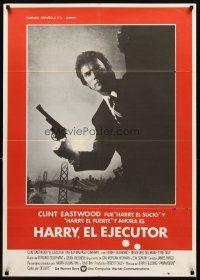 3b075 ENFORCER Spanish '76 photo of Clint Eastwood as Dirty Harry by Bill Gold!