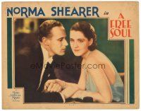 3e021 FREE SOUL LC '31 Leslie Howard in romantic close up with uninterested Norma Shearer!