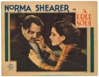 3e023 FREE SOUL LC '31 Norma Shearer tries to comfort her father Lionel Barrymore!