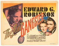 3e068 LAST GANGSTER TC '37 Edward G. Robinson gets out of prison after 10 years & sees his son!