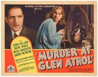 3e077 MURDER AT GLEN ATHOL TC '36 pretty Irene Ware stealing jewels by dead body reflection!
