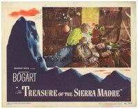 3e008 TREASURE OF THE SIERRA MADRE LC #3 '48 Walter Huston tends to wounded Tim Holt, John Huston!
