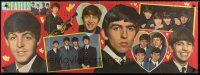 3m005 BEATLES English commercial poster '60s many great images of the young band!