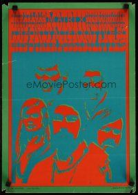 3m004 MATRIX: THE ONLY ALTERNATIVE & HIS OTHER POSSIBILITIES 14x20 music poster '67 psychedelic!