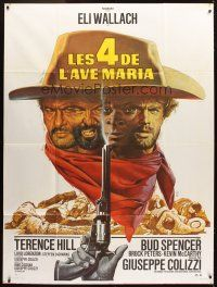 3x600 ACE HIGH French 1p R70s Eli Wallach, Terence Hill, spaghetti western, different Mascii art!