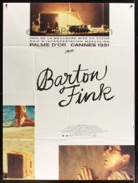 3x627 BARTON FINK French 1p '91 Coen Brothers, John Turturro, great different image!
