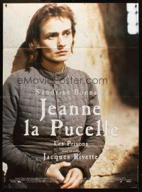3x788 JOAN THE MAID II French 1p '94 Jeanne la Pucelle II-Les Prisons, Bonnaire as Joan of Arc!