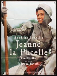 3x787 JOAN THE MAID I French 1p '94 Jeanne la Pucelle I-Les batailles, Bonnaire as Joan of Arc!