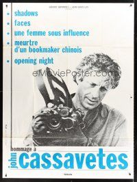 3x773 HOMMAGE A JOHN CASSAVETES French 1p '93 Woman Under the Influence, Chinese Bookie, Faces