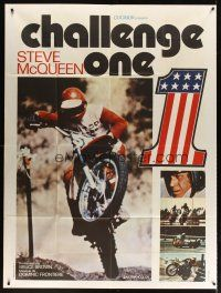 3x864 ON ANY SUNDAY French 1p '71 Bruce Brown classic, Steve McQueen, motorcycle racing, different