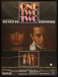 3x867 ONE TWO TWO French 1p '78 Christian Gion's 122 rue de Provence, Nicole Calfan, Francis Huster