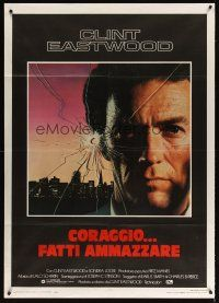 3x531 SUDDEN IMPACT Italian 1p '84 Clint Eastwood is at it again as Dirty Harry, great image!