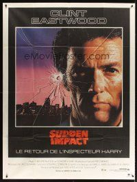 3x937 SUDDEN IMPACT French 1p '83 Clint Eastwood is at it again as Dirty Harry, great image!