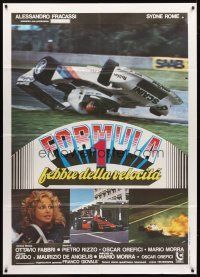 3x524 SPEED FEVER Italian 1p '78 different images of Formula One race cars crashing on track!