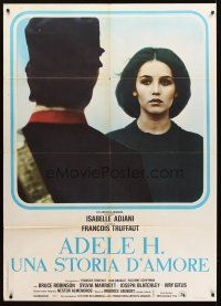 3x529 STORY OF ADELE H. Italian 1p '75 Francois Truffaut, close up of pretty Isabelle Adjani!