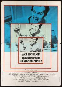 3x377 ONE FLEW OVER THE CUCKOO'S NEST Italian 2p R70s Nicholson, Milos Forman classic, different!