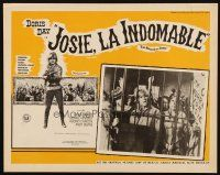 3x227 BALLAD OF JOSIE Mexican LC '68 great close up of Doris Day & women behind bars!