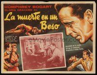 3x286 IN A LONELY PLACE Mexican LC R50s Humphrey Bogart & Gloria Grahame in office with 2 others!