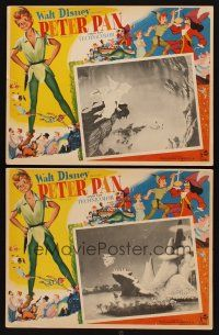 3x307 PETER PAN 2 Mexican LCs R70s Walt Disney animated cartoon fantasy classic!