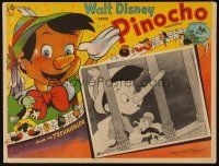 3x308 PINOCCHIO Mexican LC R60s Disney classic cartoon about a wooden boy who wants to be real!