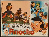 3x309 PINOCCHIO Mexican LC R70s Disney classic cartoon about a wooden boy who wants to be real!