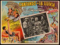 3x324 SINGIN' IN THE RAIN Mexican LC R50s Jean Hagen & Gene Kelly trying to adjust to sound!
