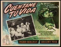 3x328 SPELLBOUND Mexican LC R60s Alfred Hitchcock, doctor Gregory Peck in operating room!